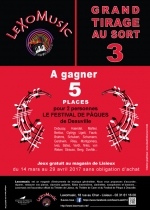 création affiche lisieux, claudine bucourt