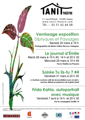 claudine bucourt création affiche lisieux