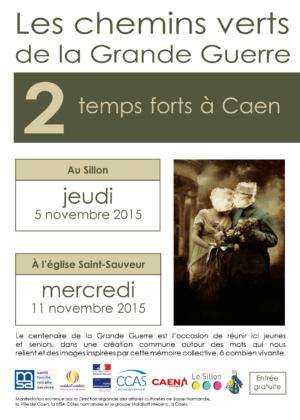 création affiches lisieux, claudine bucourt.mobi