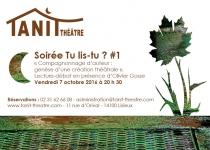 création flyer lisieux, claudine bucourt