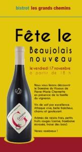 news letter sur mesure ,claudine bucourt - beaujolais nouveau