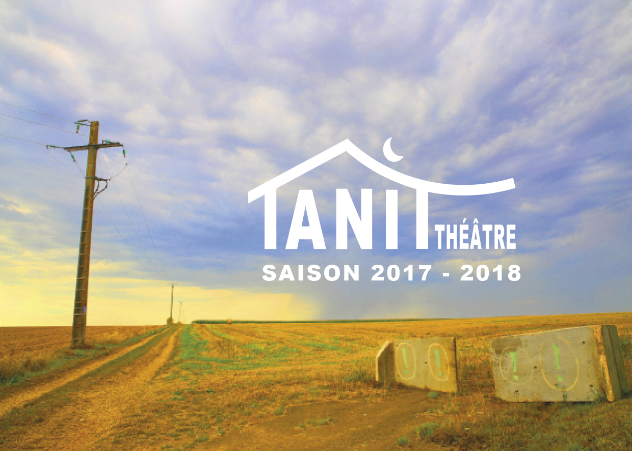 CREATION CATALOGUE DU TANIT THEATRE - CLAUDINE BUCOURT