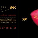 flyer pour willy et les conquérrant création claudine bucourt